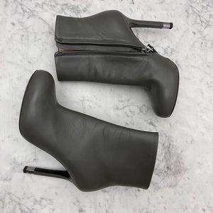 Chanel hidden platform booties